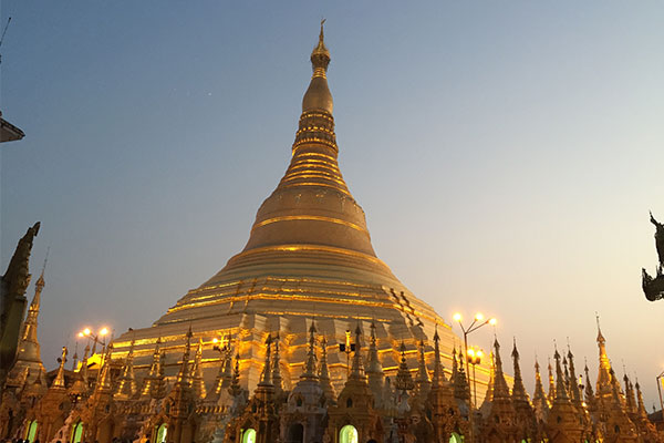 SHWEDAGON AT SUNSET SAMANTHA CLARK