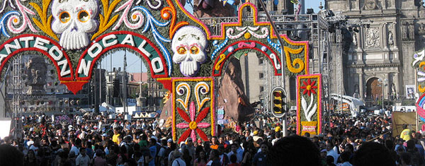 Day of the Dead arch