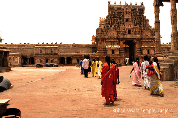 Tanjore South India temple