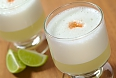 Peruvian cocktail called Pisco Sour