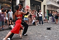 Tango performance in the street