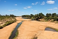 Dry river bed at Kruger National Park