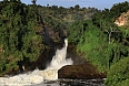 The falls at Murchison Falls National Park