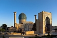 Guri Amir - Mausoleum of the Asian conqueror Tamerlane in Samarkand