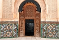 Main door of Ben Yussef Medersa
