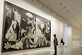 Inside the Reina Sofia Museum