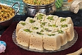 Mysore Pak, an incredibly sweet invented by a royal chef at the Mysore Palace at the time of the rule of Krishna Raja Wadiyar IV