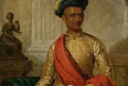 Purniya, Chief Minister of Mysore painted by Thomas Hickey in 1801, oil on canvas