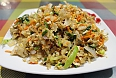 Kottu Roti – This popular evening street dish is a simple way of dealing with leftover food from the day. It consists of roti, meat, spices, and vegetables which is all chopped using two blunt blades and mixed together on a hot plate.