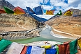 Confluence of Zanskar and Indus rivers, Leh